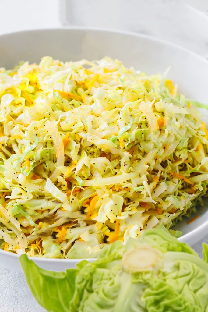 Vinegar Coleslaw Dora Wamg pinterest recipe