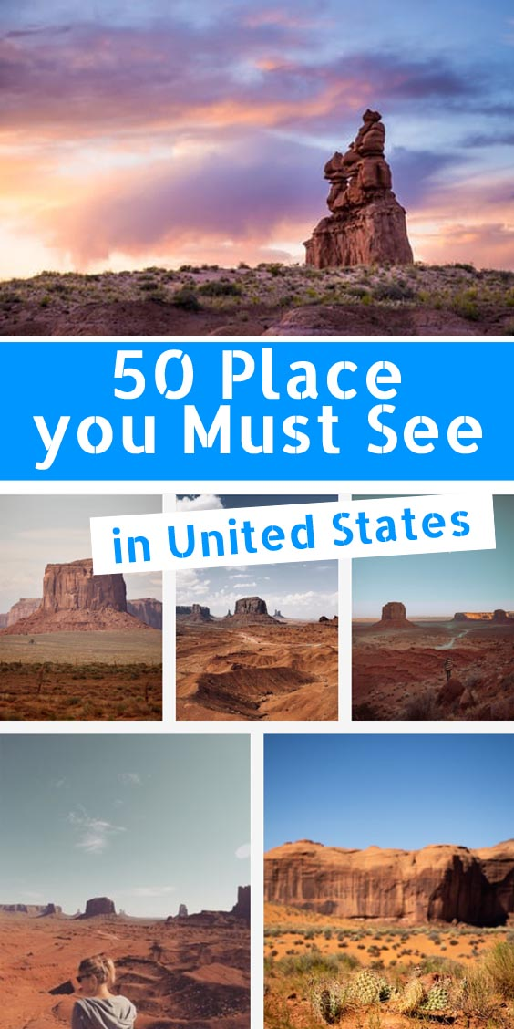50 most beautiful places in us to watch in your lifetime