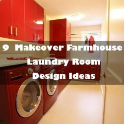 9  Makeover Farmhouse Laundry Room Design Ideas