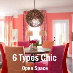 6 Types Chic Open Space Decoration Ideas