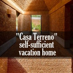 """Casa Terreno"" self-sufficient vacation home"