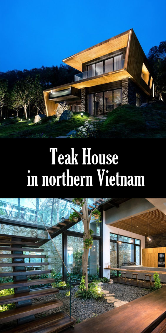 The Teak House in northern Vietnam by Pham Thanh Huy