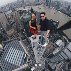 10 Crazy City Climber Selfies From Around The World -Part 1