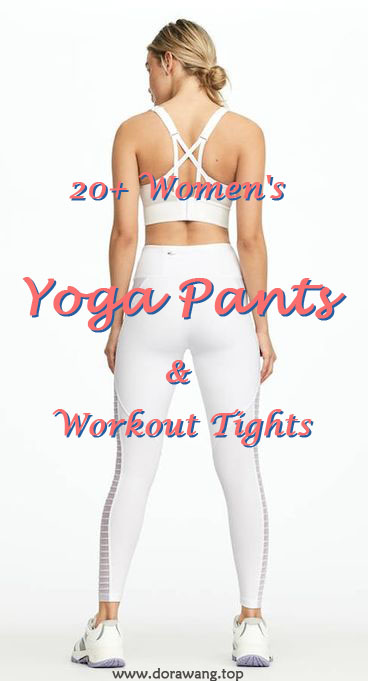 20+ Women's Yoga Pants & Workout Tights