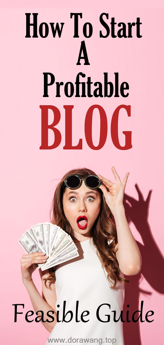THE COMPLETE & FEASIBLE GUIDE TO STARTING A PROFITABLE BLOG IN 2020