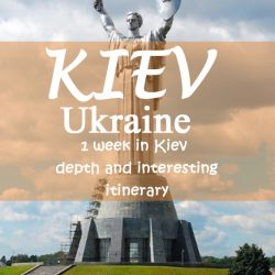 1 week in Kiev- depth and interesting itinerary