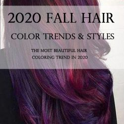 2020 FALL HAIR COLOR TRENDS & STYLES
