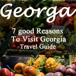 7 good Reasons To Visit Georgia