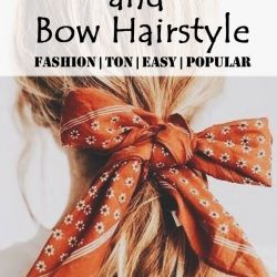 Head Scarf, Bandana and Bow Hairstyle Set off beautiful -Part two