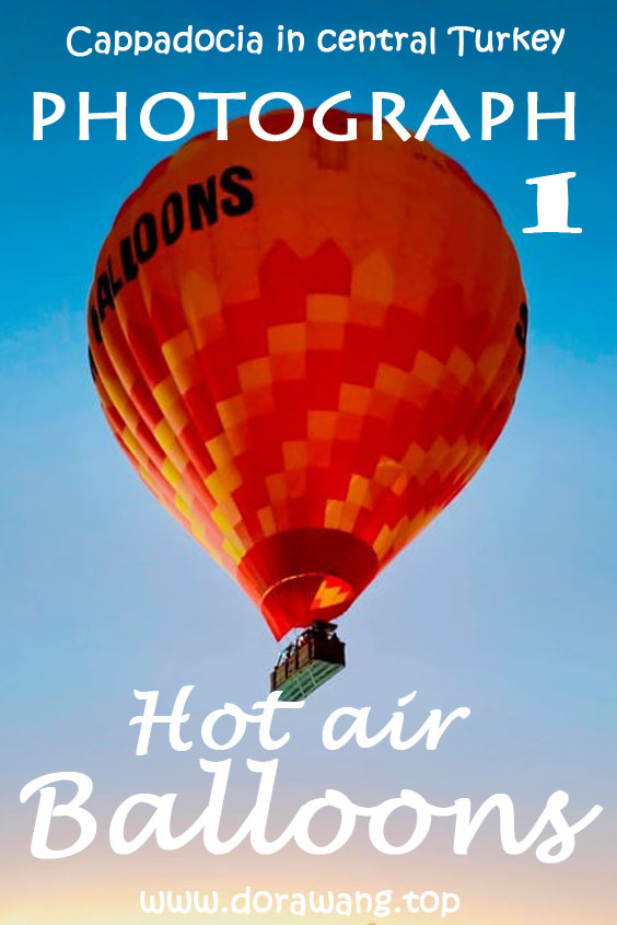 Turkey travel photograph-Hot air balloons part one