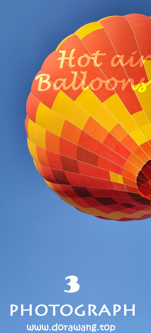 Turkey travel photograph-Hot air balloons part three