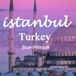 Istanbul Sightseeing Route Blue Mosque photograph