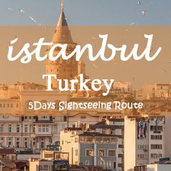 Istanbul Sightseeing Route – Turkey