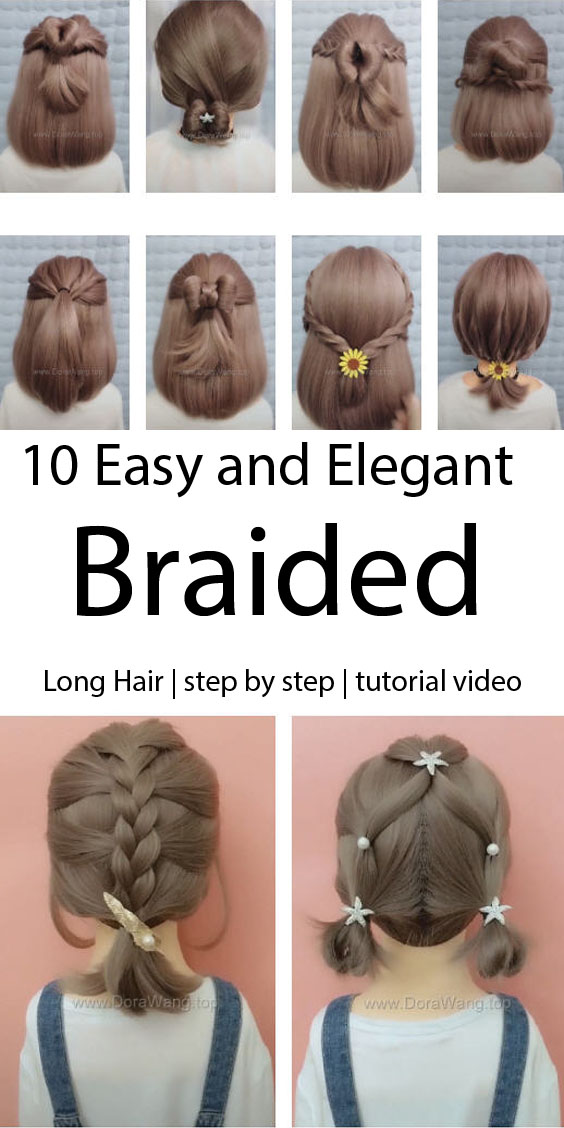 10 Easy and Elegant Braided Hairstyles Worth Trying