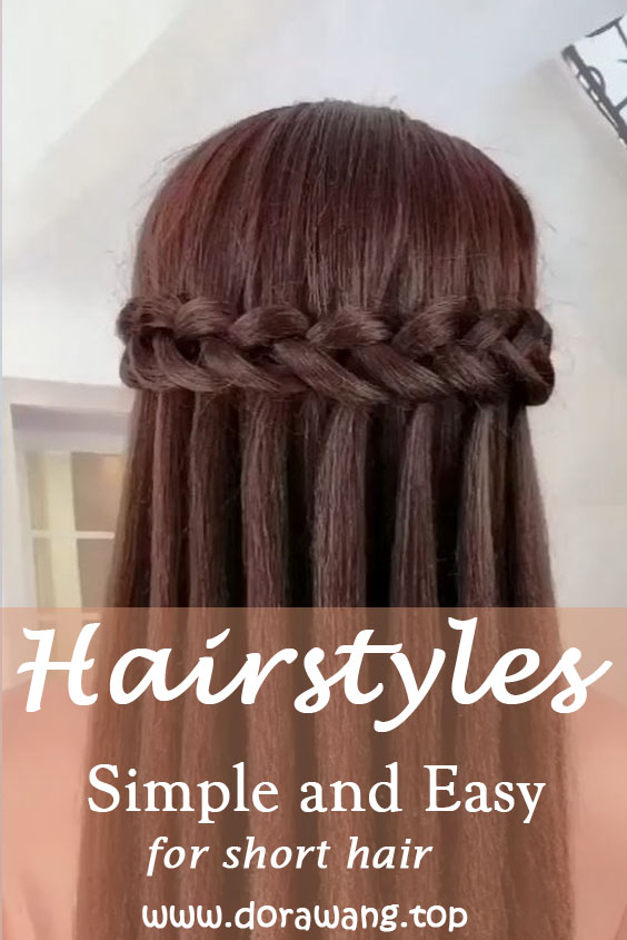 Hairstyles for long hair Video tutorial part 2