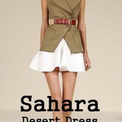 Sahara desert dress-how it is so popular Part 2