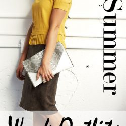30+ Stylish Summer Work Outfits for Wome
