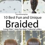 10 Best Fun and Unique Braided Hairstyles