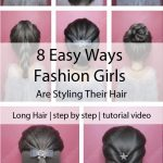 8 Easy Ways Fashion Girls Are Styling Their Hair Right Now Braids