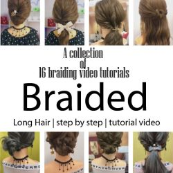 A collection of 16 braiding video tutorials
