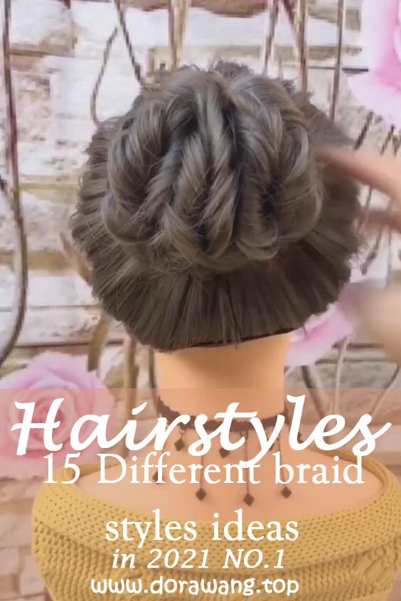 15 Different braid styles ideas in 2021 NO.1 French braid