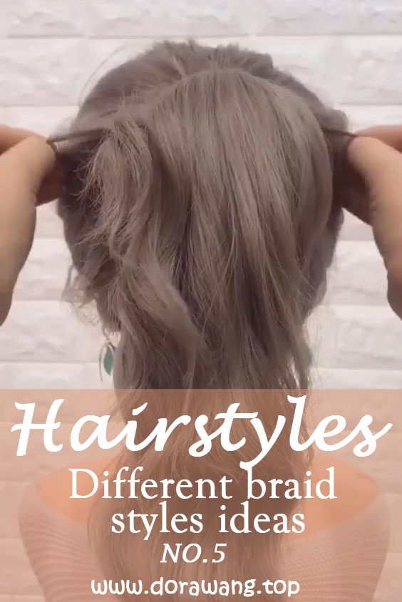 15 Different braid styles ideas in 2021 NO.5 straight-back braids