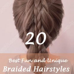 20 Best Fun and Unique Braided Hairstyles to Wear in 2020