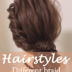 15 Different braid styles ideas in 2021 NO.13 wrapped