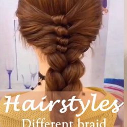 15 Different braid styles ideas in 2021 NO.15 messy