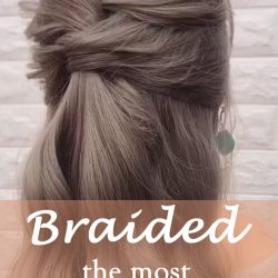 20 of the most beautiful Braided Bridal Updos NO.11 fishtail braid