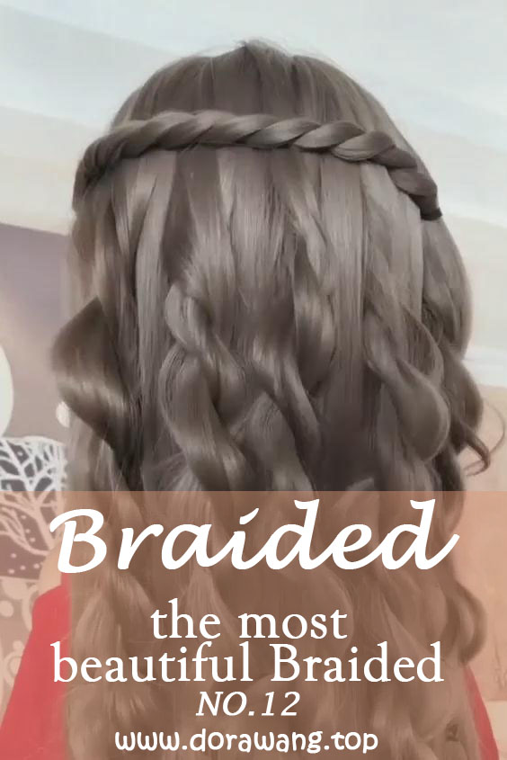 20 of the most beautiful Braided Bridal Updos NO.12 sweetest hairstyles