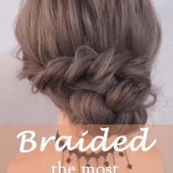 20 of the most beautiful Braided Bridal Updos NO.15 creative braid.