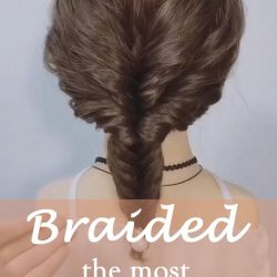 20 of the most beautiful Braided Bridal Updos NO.18 Dora wang