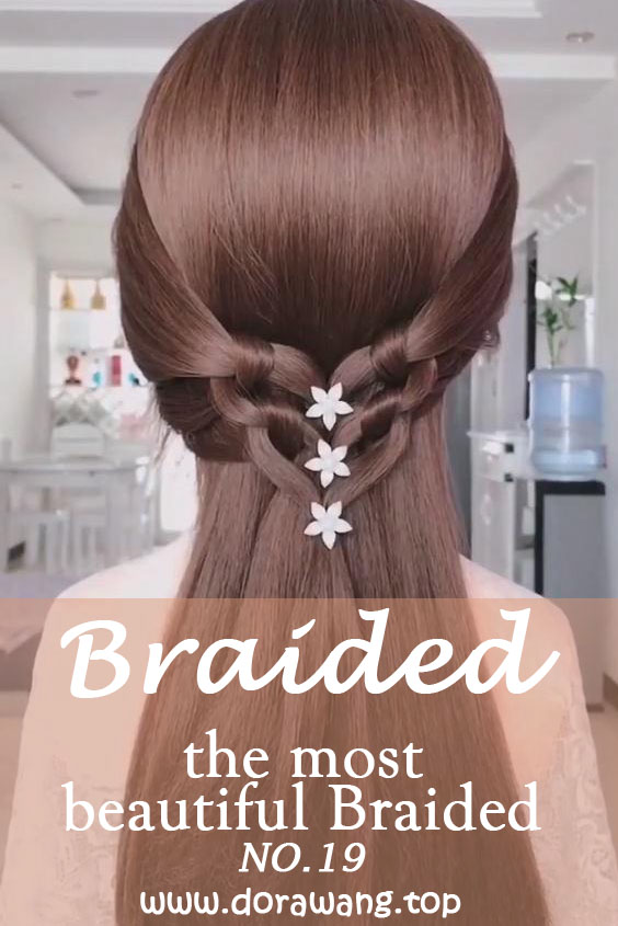 20 of the most beautiful Braided Bridal Updos NO.19 The Milkmaid