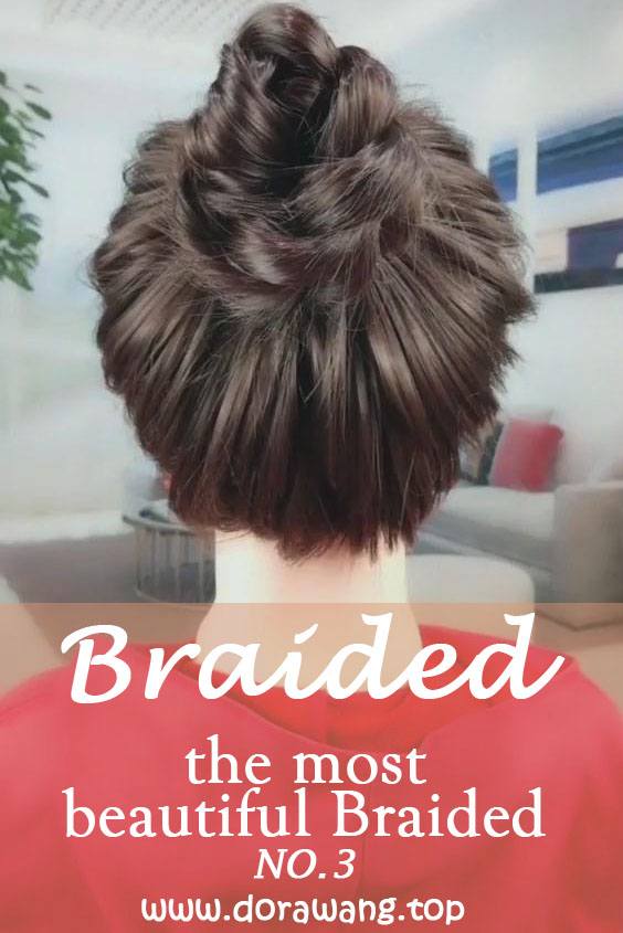 20 of the most beautiful Braided Bridal Updos NO.3 precious