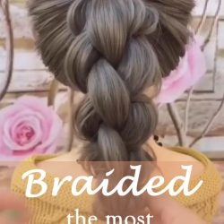 20 of the most beautiful Braided Bridal Updos NO.6 waterfall braid