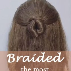 20 of the most beautiful Braided Bridal Updos NO.8 chignon