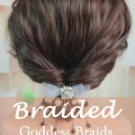24 Goddess Braids for Women-the most beautiful Braided NO.5 cute braid for dating and night out
